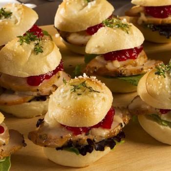 Mini sandwich – mini Brioche Menu Οργάνωση Δεξιώσεων | Gk Catering